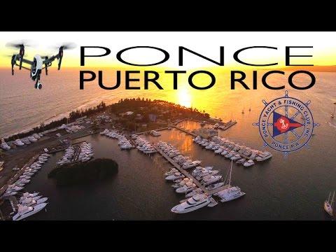 Club Náutico de Ponce PUERTO RICO ~ Best Caribbean UAV Drone ~ WeBeYachting.com