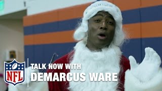 DeMarcus Ware Throws A Holiday Party | NFL Now | Talk Now With DeMarcus Ware