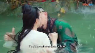 太子偷看美女脫衣沐浴,心動到已經等不及,撲進水中強吻她 💖 Chinese Television Dramas