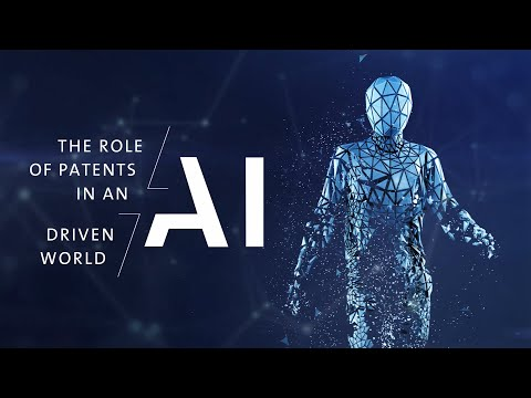 The role of patents in an AI driven world - DAY 1