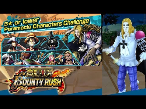 CHALLENGE BATTLE : PARAMECIA! // One Piece Bounty Rush - Android