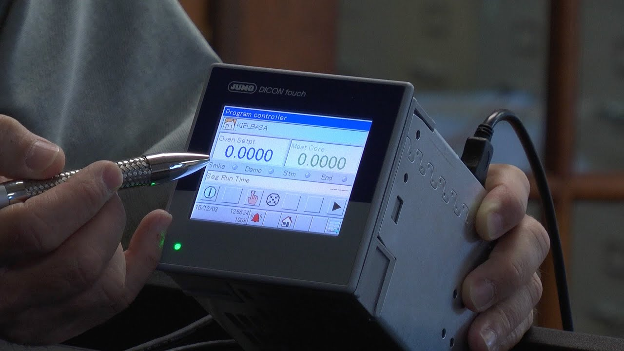 hands on with the jumo dicon touch youtube rh youtube com Dicon Plant jumo dicon 500 manual en español