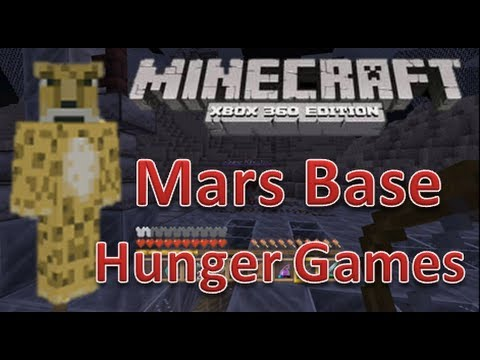 Minecraft xbox 360 Hunger Games | Mars Base | Map Download ...