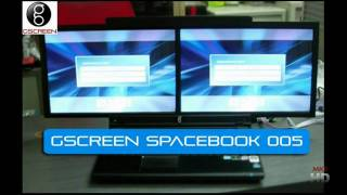 gScreen Spacebook_ Dualscreen Laptop!