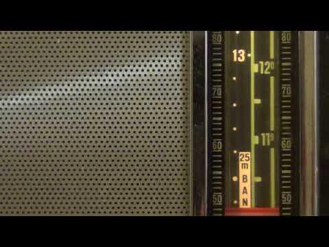 Radio Ukraine via WRMI 11580 Khz Shortwave on Grundig Satellit Transistor 6001