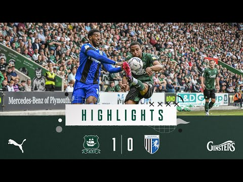 Plymouth Gillingham Goals And Highlights