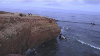 Father suspected of intentionally driving off cliff with daughters in Point Loma