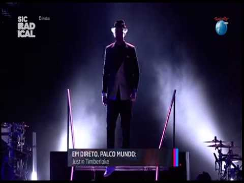 Justin Timberlake - Pusher Love Girl Rock in Rio Lisboa 2014