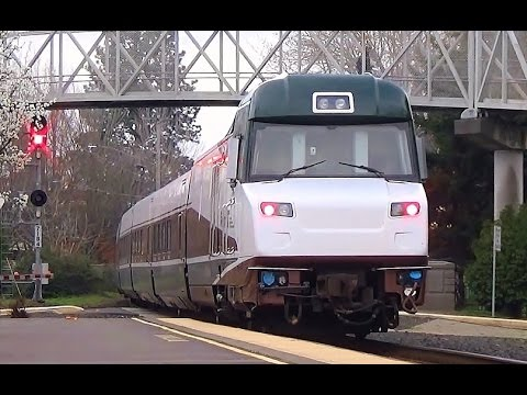 Amtrak Cascades #508 in Salem, Oregon