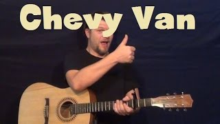 Chevy Van (Sammy Johns) Easy Strum Guitar Lesson How to Play Tutorial