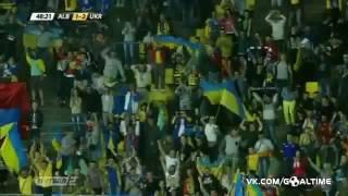Гол Андрея Ярмоленко | Албания-Украина | Евро-2016 | Товарищ.встреча |