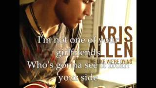 Kris Allen-Written