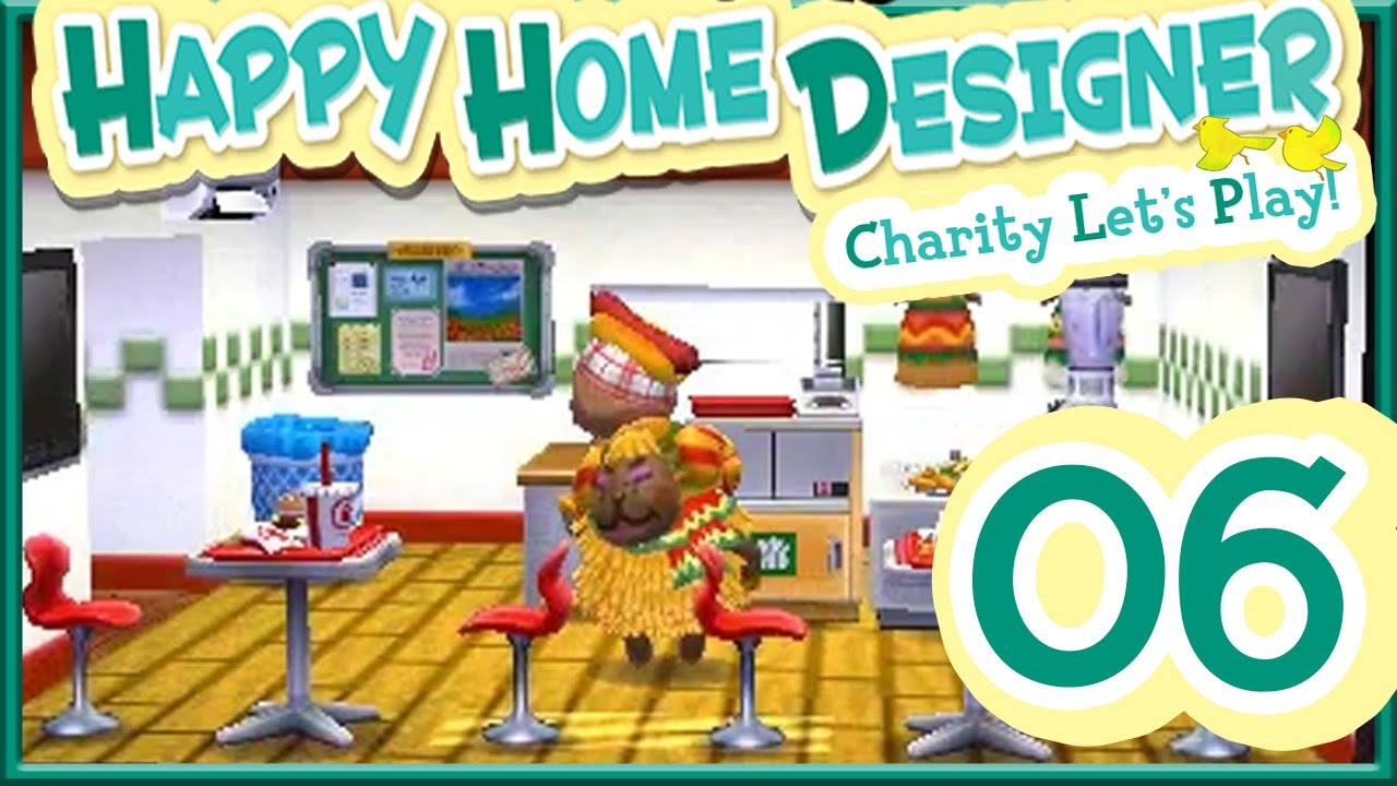 Let's Play Animal Crossing Happy Home Designer - Part 6 + Opening Amiibo Cards - YouTube