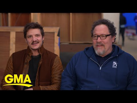 Pedro Pascal And Director Jon Favreau On 'The Mandalorian' L GMA
