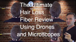 HAIR BUILDING FIBER REVIEW WITH A DRONE? SEE THE RESULT!