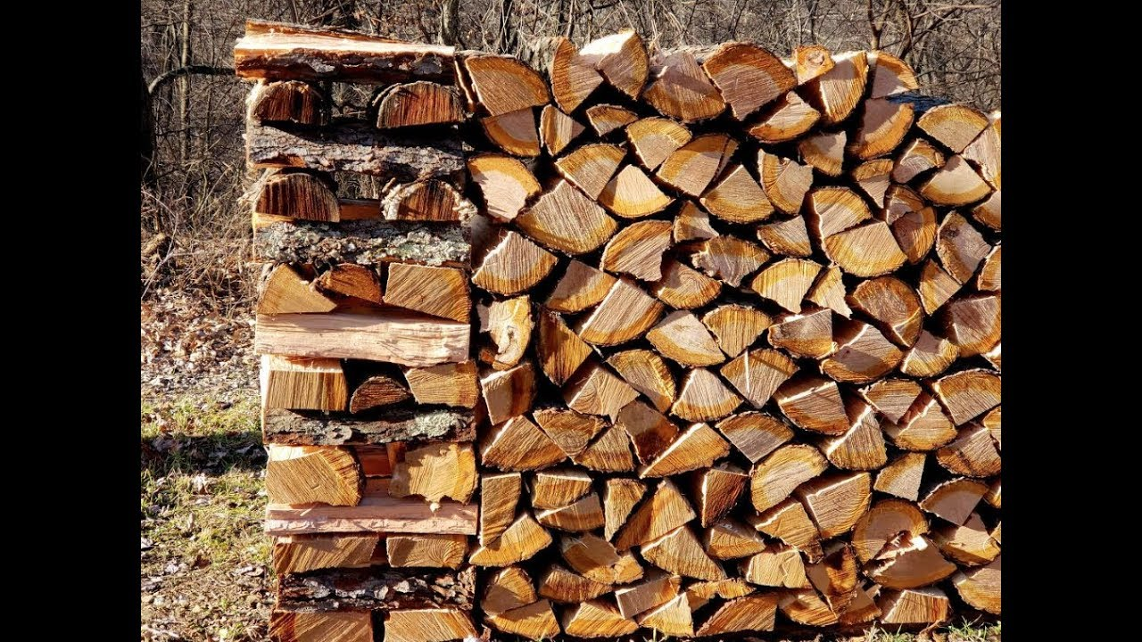 322 The Secret To Keeping Your Firewood Stacks Standing Youtube