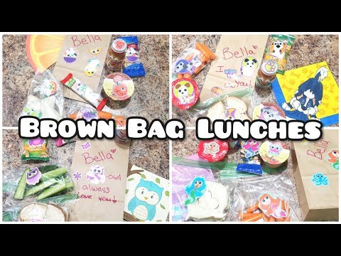 Field trip lunches Brown bag lunches Bella Boo's Lunches week 13