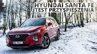Hyundai Santa Fe 2.0 CRDi 185 KM (AT) - acceleration 0-100 km/h