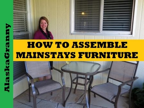 How to Assemble  Patio Furniture