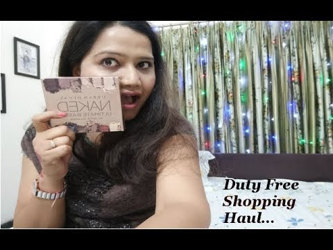 ✈️ 💄  Duty Free Shopping Haul Part I  💄 ✈️ |  Stay Tune For more...