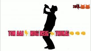 Whatsapp Video Status || Tu ok hai na bhai || Millind Gaba || Rap song