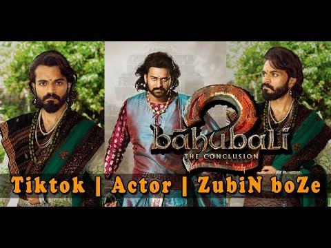 Bahubali 2 | Hindi | Film | Prabhas | Mass | Dialogue | Tiktok | Actor | ZubiN BoZe