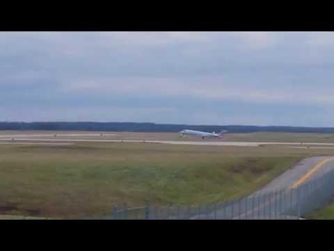 CRJ2 Air Wisconsin Flight 3929 Takeoff
