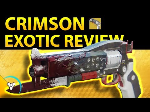 Destiny 2: Red Death Reincarnated! (Crimson Exotic Review)