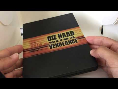 DIE HARD WITH A VENGEANCE [PLAY.COM] UK STEELBOOK BLU RAY REVIEW