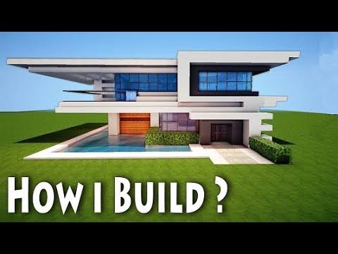 Modern House Tutorial |Minecraft #1