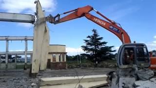 Demolition Mt. Roskill Bus Depot