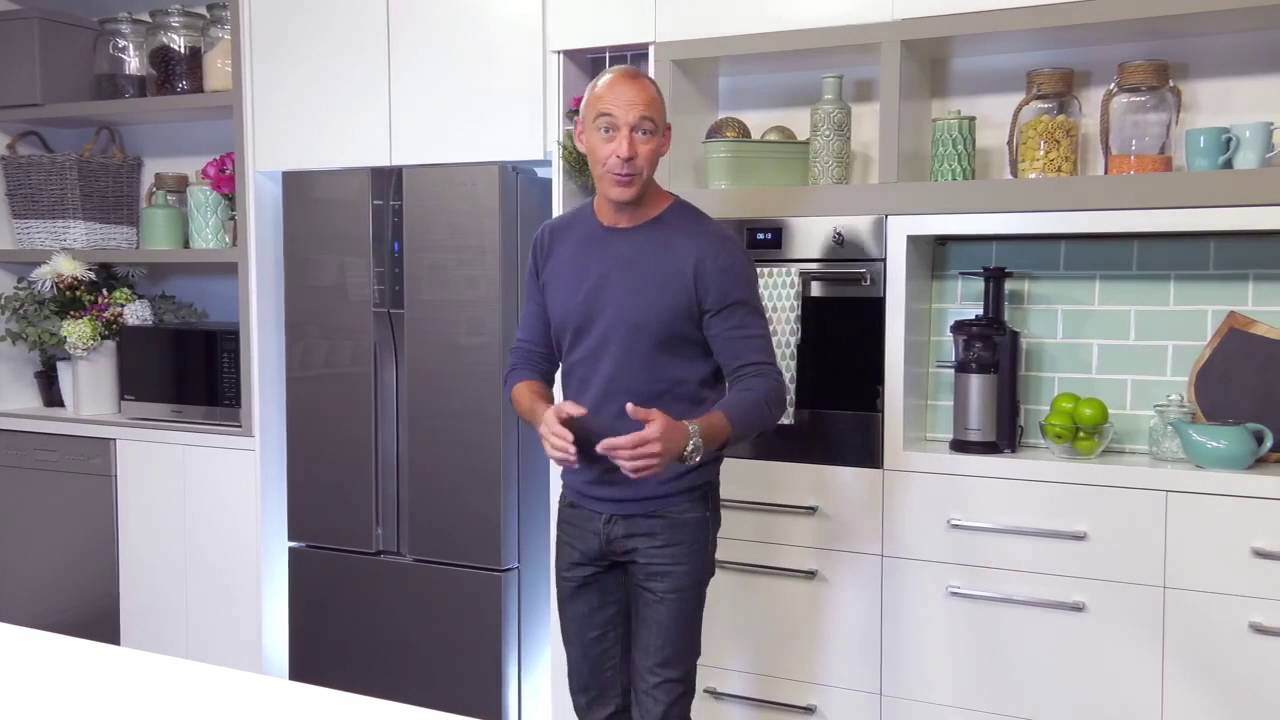 Panasonic French Door Fridge Part - 16: Panasonic French Door Fridge U2013 Learn More With Lochie Daddo