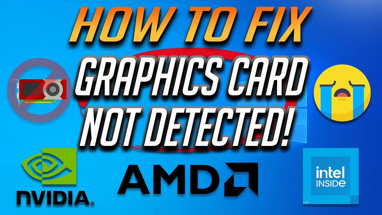Как исправить компьютер, не использующий видеокарту?