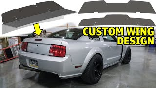 Designing a Custom Wing for My Car
