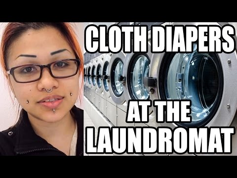 How To: PROPERLY Wash Cloth Diapers At The Laundromat