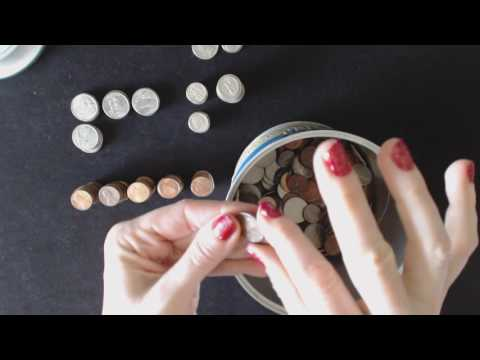 ASMR Soft Spoken/Whisper Request ~ Sorting & Counting Coins ~ Southern Accent