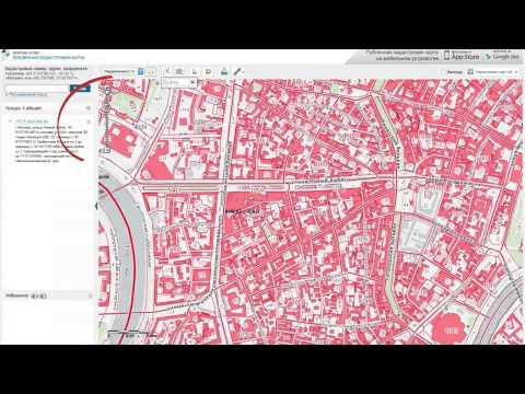 Видеоинструкция: Публичная кадастровая карта