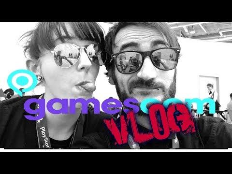 Games, YouTuber, Party! | Gamescom 2017 | Ally Unterwegs