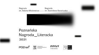 Konferencja prasowa Poznańskiej Nagrody Literackiej