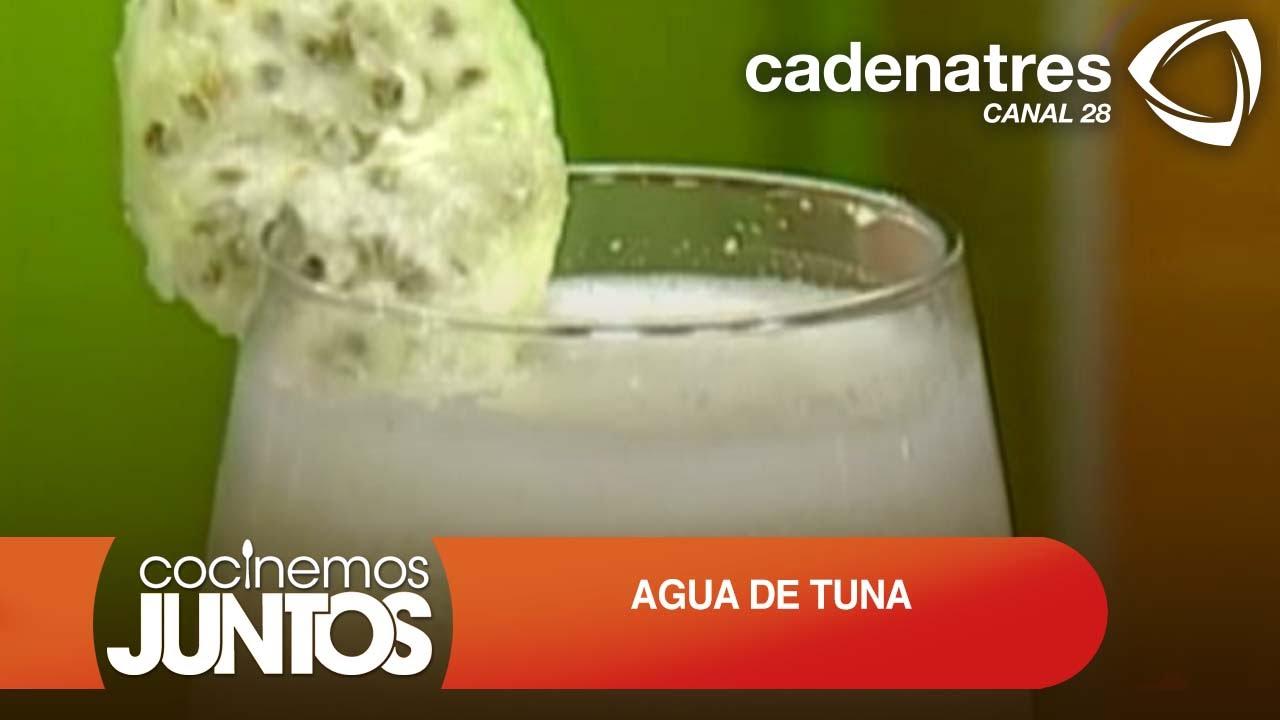 agua de tuna para la prostata