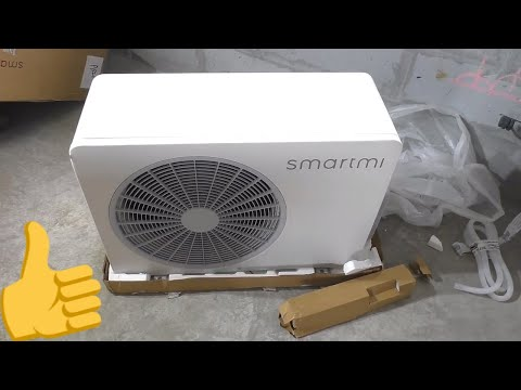 XIAOMI ИНВЕРТОРНЫЙ КОНДИЦИОНЕР - ОТОПИТЕЛЬ! SmartMi Zhimi Full DC Inverter Air Conditioner
