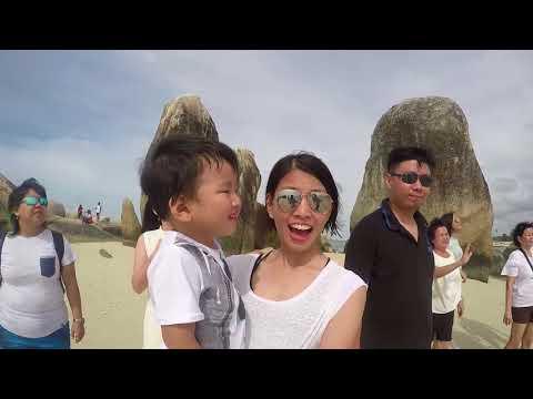#087  Dr. Vinda & Family Palembang goes to belitung with amazing belitung tour