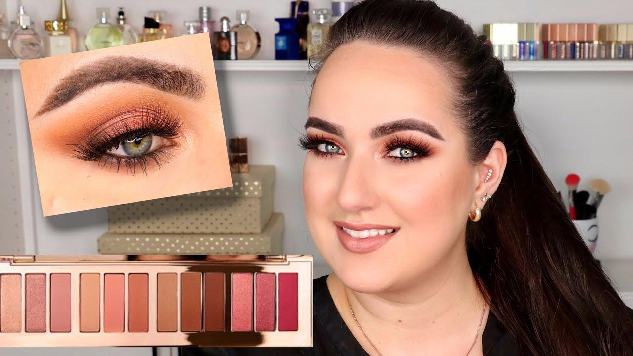 new charlotte tilbury pillow talk instant eye palette review tutorial patty