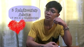 Vlog 5   5 Relationship Advice