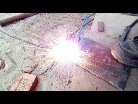 How to make hole in metal