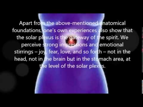 The solar plexus -- The gateway for the spirit