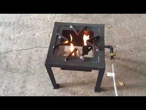 INSANE burner and fryer by Gator Pit - YouTube