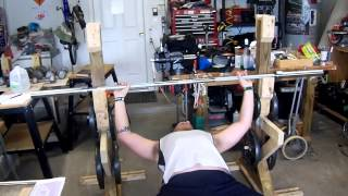 Homemade Bench Press And Squat Rack
