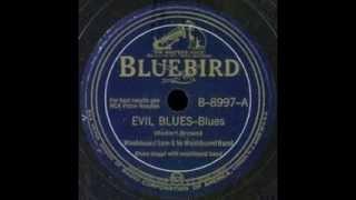 Washboard Sam - Evil Blues
