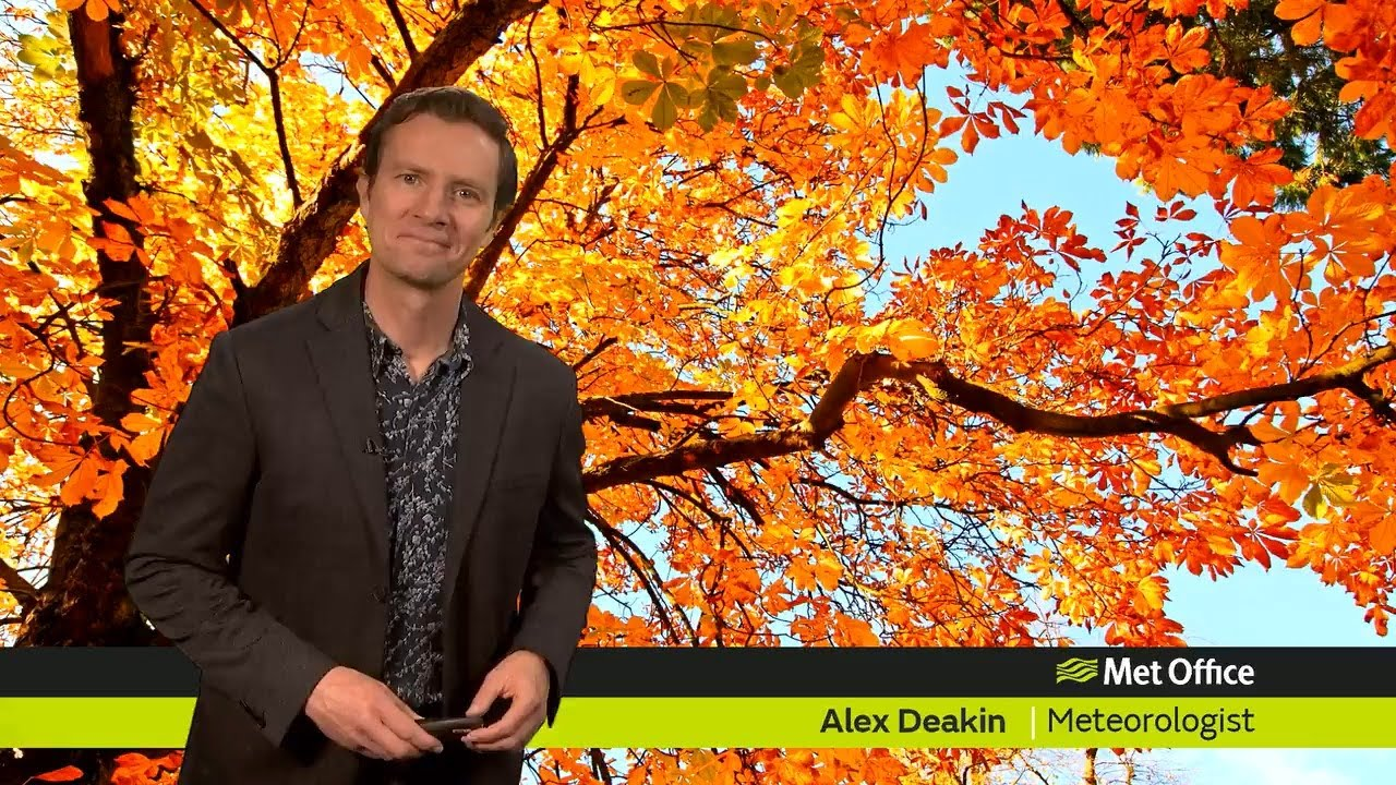 Friday afternoon forecast 15/10/21